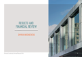 RESULTS AND FINANCIAL REVIEW