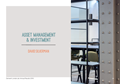ASSET MANAGEMENT & INVESTMENT